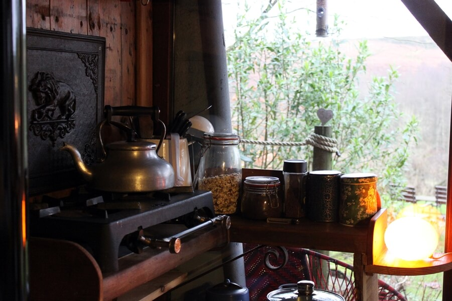 Small Space Living That Inspired Our Van Conversion - tiny house kitchen