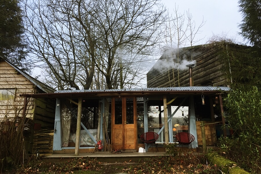 Small Space Living That Inspired Our Van Conversion - a converted railway carriage