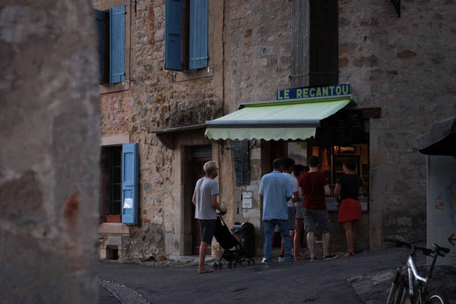Exploring Lagrasse with Kids - Le Recantou ice cream cafe