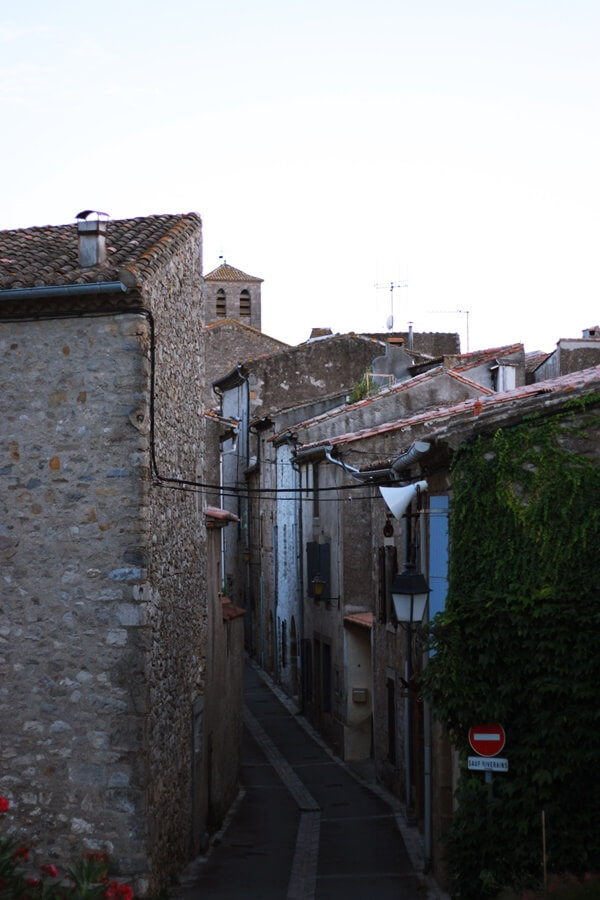 Exploring Lagrasse with Kids - medieval town