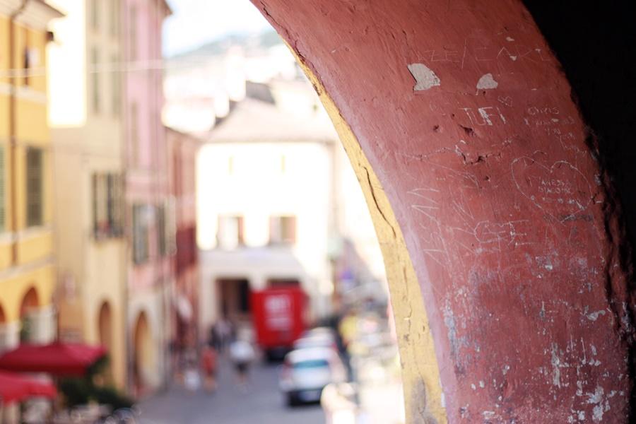Graffiti - Exploring Brisighella With Kids