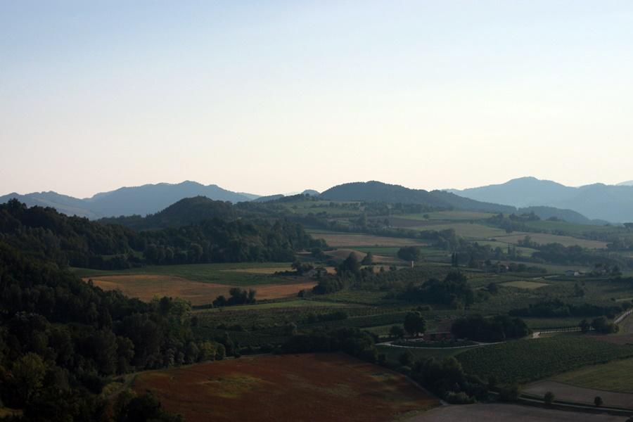 Mountain views - Exploring Brisighella With Kids