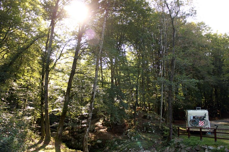 Clauzetto camper sosta - Magical Mountain Camping In Northeastern Italy