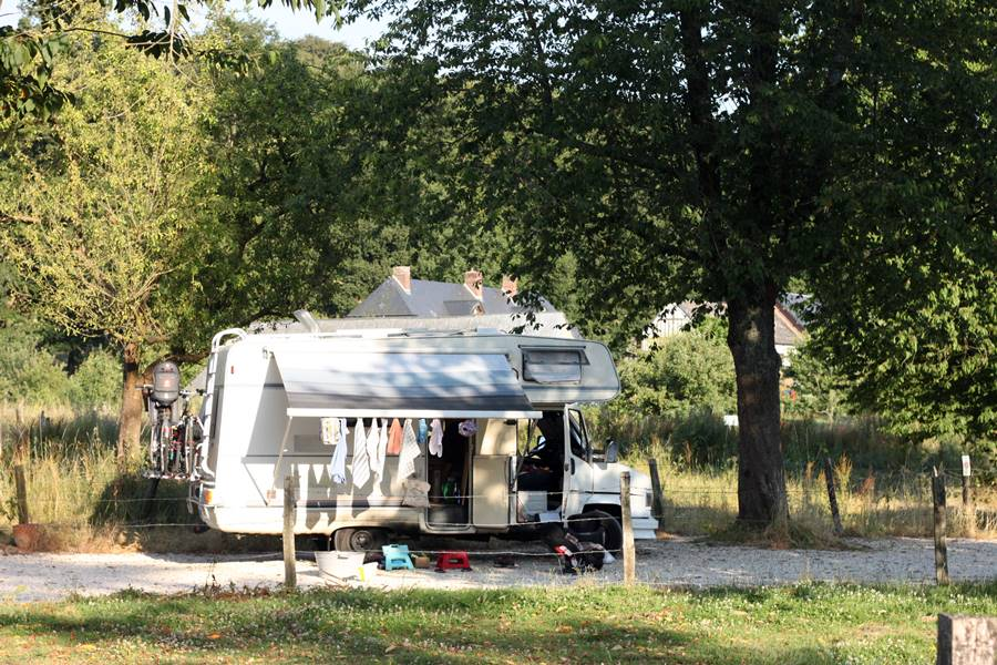 France In A Campervan - Auberge du Val au Cesne