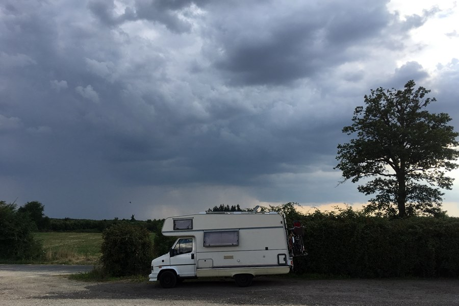 France In A Campervan - Domaine du Parc