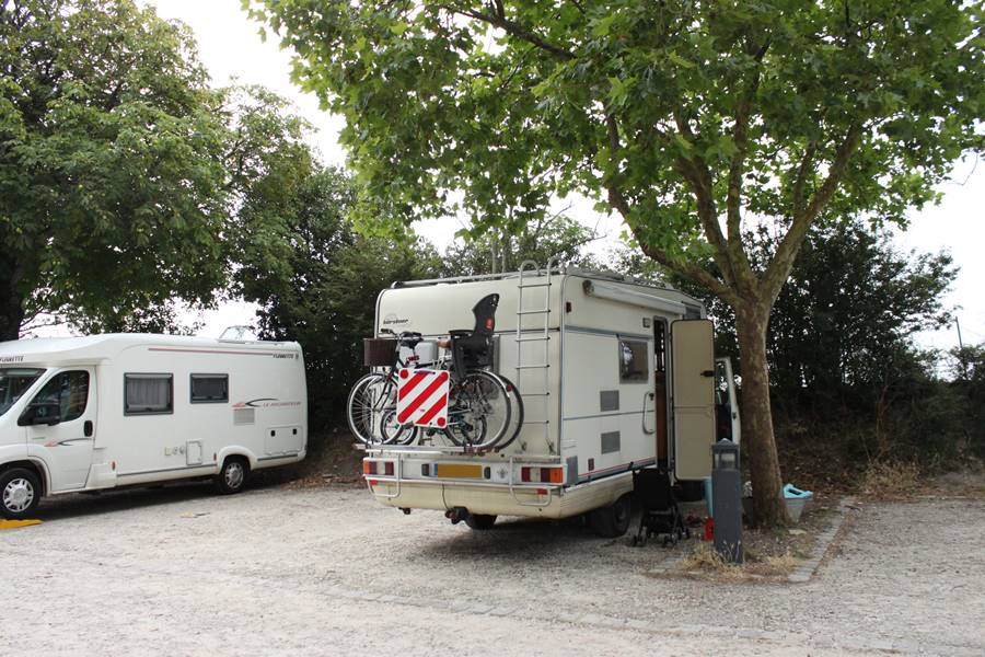 France In A Campervan - Saint Martin de Ré Aire de Camping Car