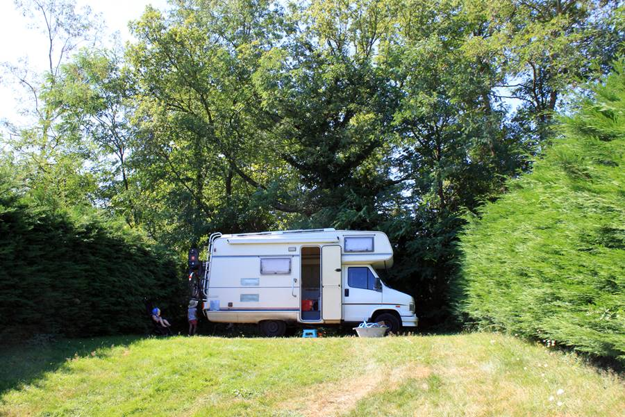 France In A Campervan - Camping La Serre