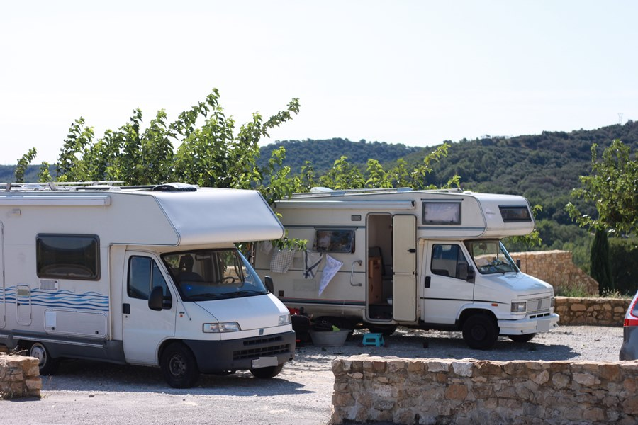 France In A Campervan - Saint-Alexandre Aire de Camping Cars
