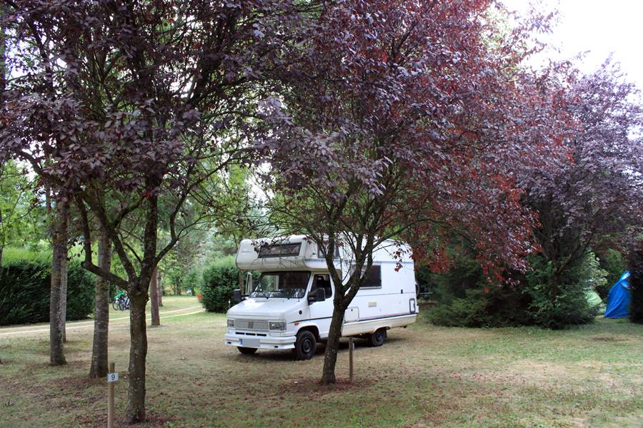 France In A Campervan - Camping du Moulin de Tulette