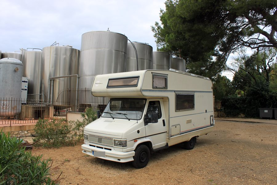 France In A Campervan - Chateau Virant