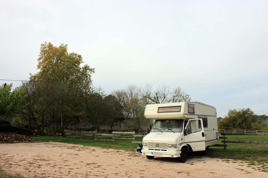 France In A Campervan - Capdenac Aire