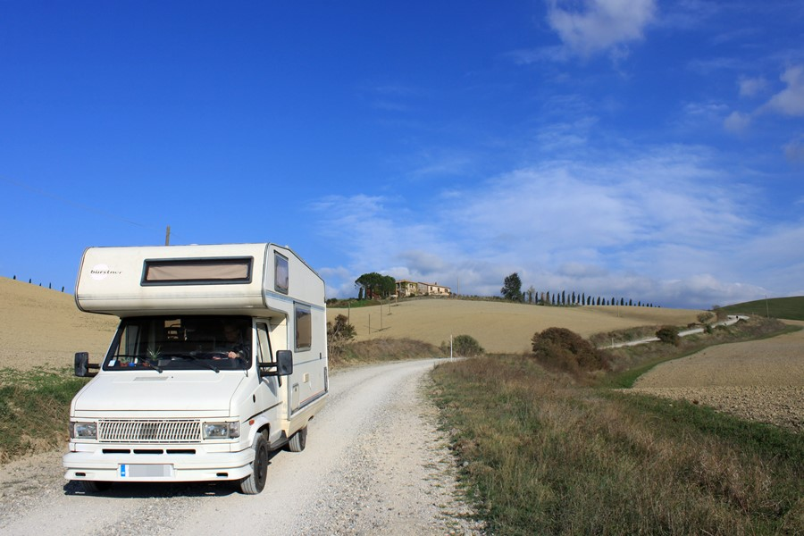 Italy in a Campervan - Baby Bus Adventures