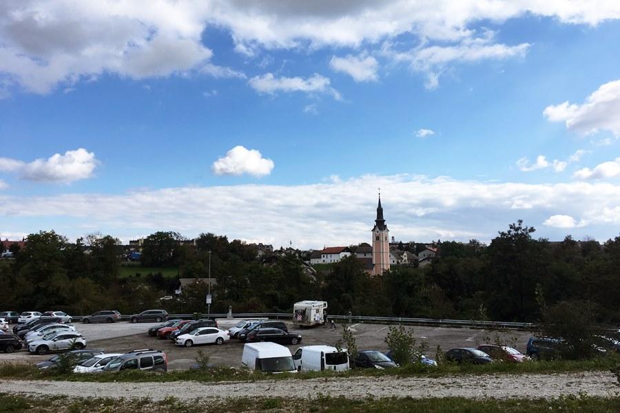 Kranj motorhome stop in Slovenia