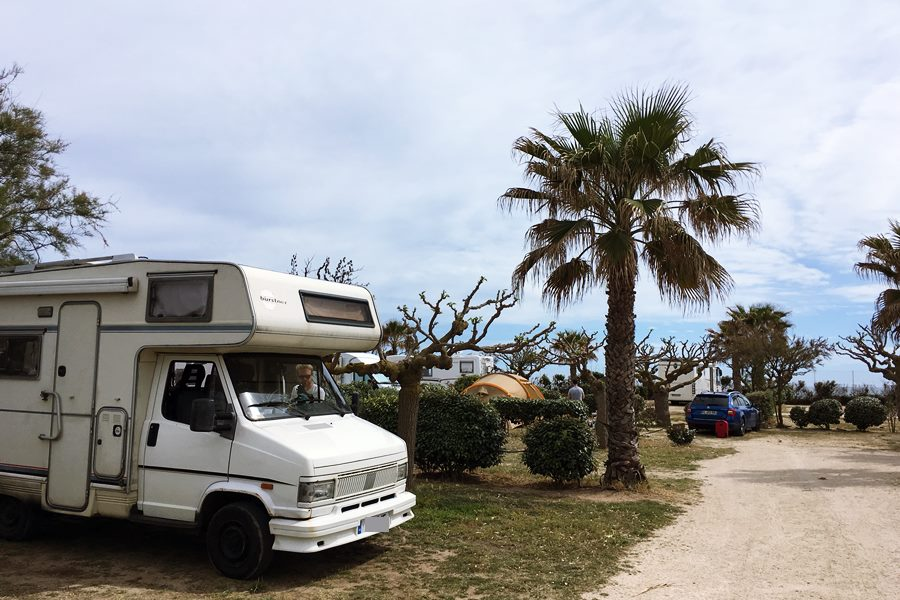 Aire de camping-car Beach Farret - France In A Campervan