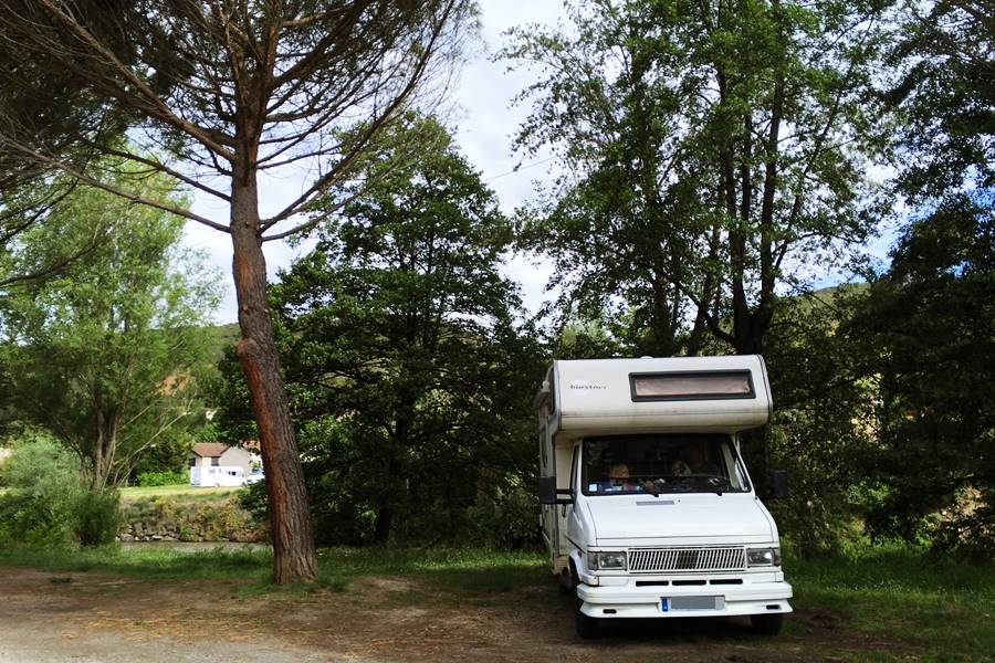 Espéraza Aire de Camping-Car - France In A Campervan
