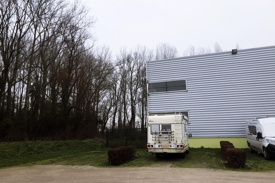 Richebourg Aire de Camping-Car- France In A Campervan