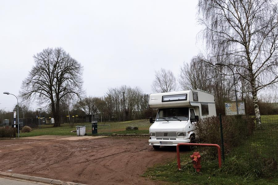 Bertry Aire de Camping-Car - France In A Campervan