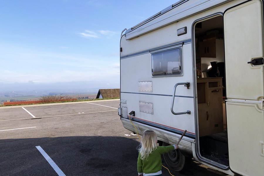 Langres Aire de Camping-Car - France In A Campervan
