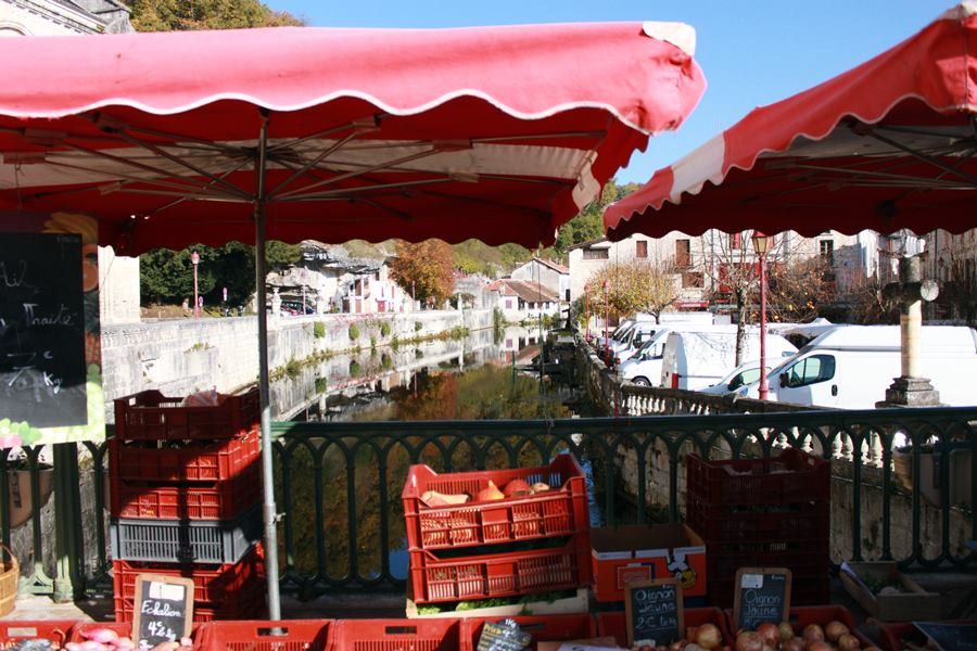 Favourite French markets - Brantome market