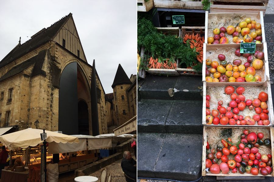 Favourite French markets - Sarlat market