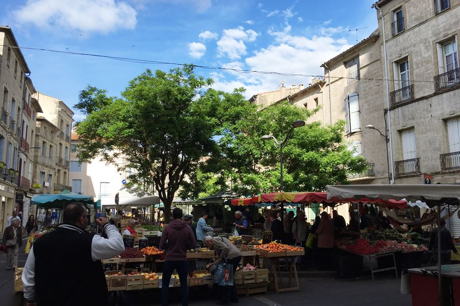 Favourite French markets - Pezenas market