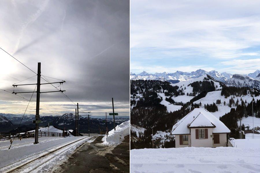 Views from Rigi Kulm - Exploring Weggis (Switzerland) In A Campervan