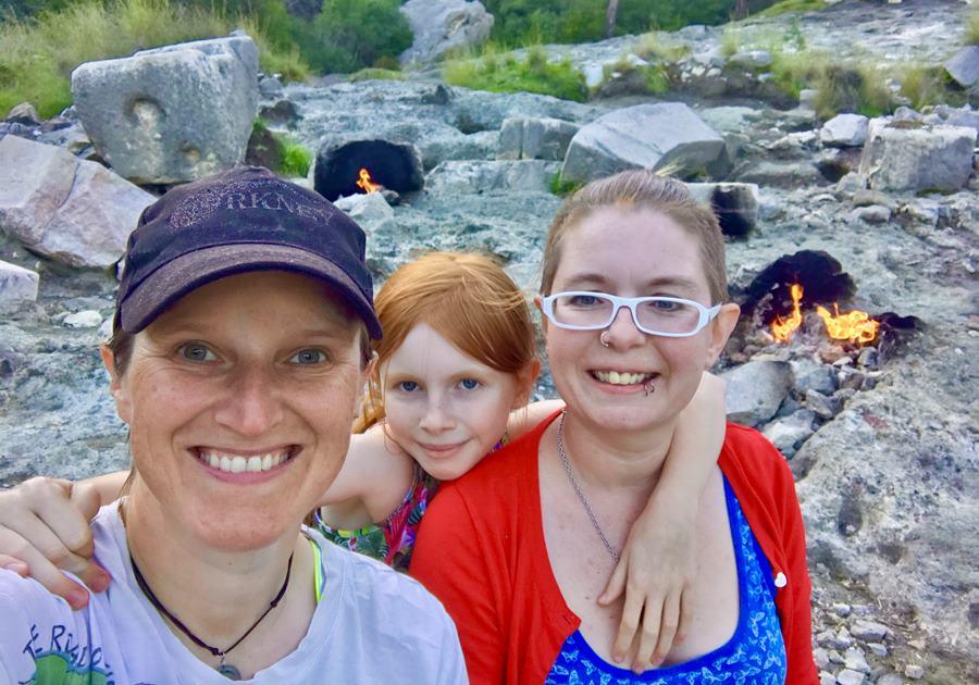 Unschooling on Mount Chimaera - Fulltime Van Family Exploring Europe
