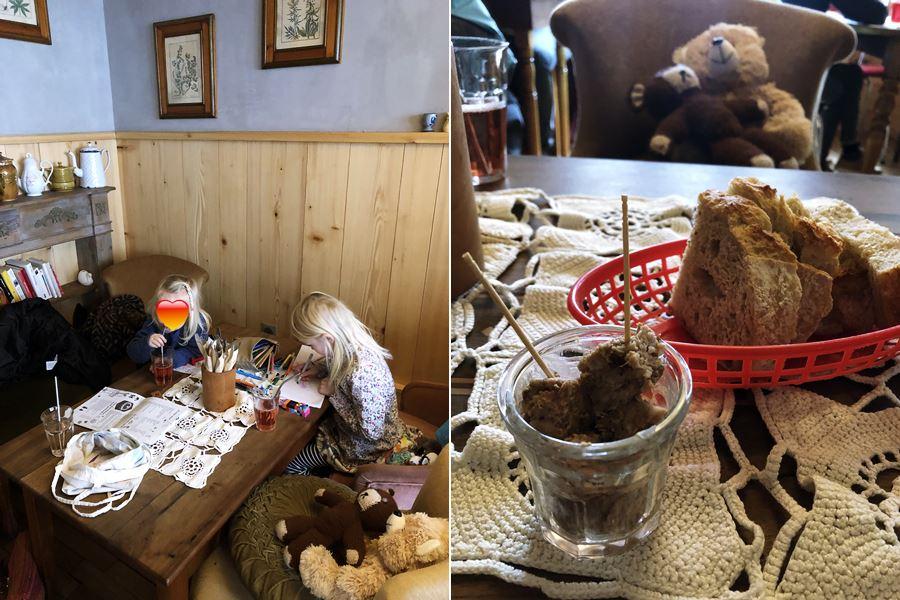 Eating out at La Table des Malker in Munster, France - exploring Munster and finding storks