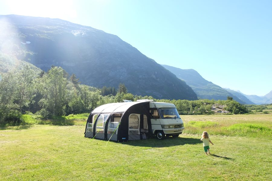 Peaceful van life park up in Norway - New Life In Italy After Family Van Life Adventure