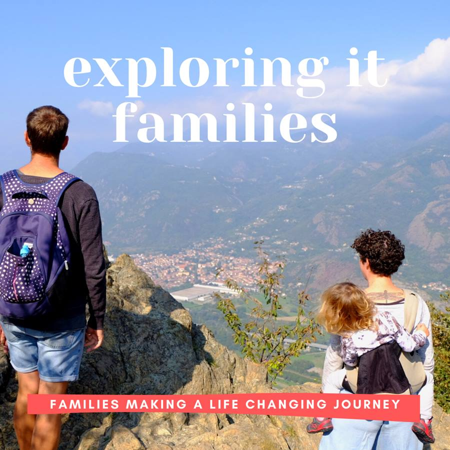 Exploring It Families podcast - New Life In Italy After Family Van Life Adventure